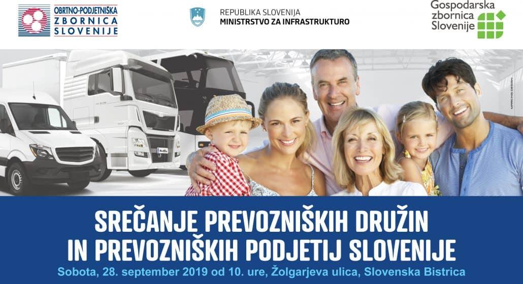 Srečanje prevozniških družin in prevozniških podjetij 2019